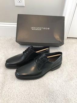 Bostonian Flexlits Mens Shoes 9W 9 Black Leather Dress Wende