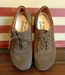 FOOTPRINTS By BIRKENSTOCK Suede Leather Brown Oxfords Shoes