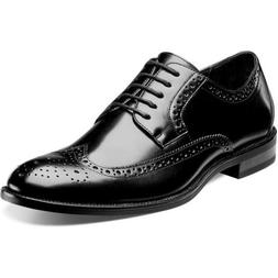 Stacy Adams Men's Garrison Medium/Wide Wing Tip Oxford Shoes
