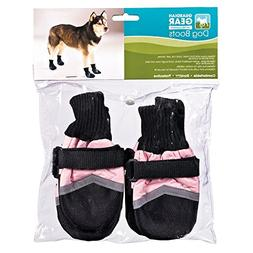 Guardian Gear Oxford Boots for Dogs, Large, Pink