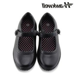 girl s black school uniform shoes dress