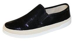 gleaming slip sequin detailing sneaker