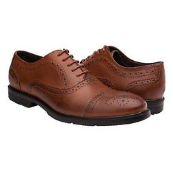 Globalwin Men's Lace Up Oxford Dress Shoes Brown09 10.5 M US