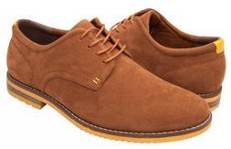 Globalwin Mens Casual Oxford Shoes Sz.8 Brown -NIB