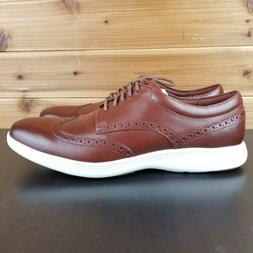 Cole Haan Grand Tour Wingtip Oxford Shoes Woodbury Ivory C29