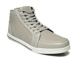 DREAM PAIRS Men's 160309-M Grey High Top Oxfords Shoes Sneak
