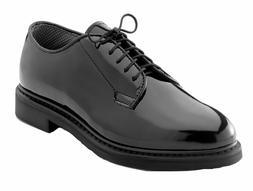 Hi Gloss Black Uniform Oxford Dress Shoe 5055 Rothco