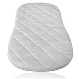 iLuvBamboo Waterproof Bassinet Pad Cover To Fit Halo Swivel