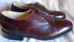 Bostonian Impression Men's 10 D/B Leather Oxford Wing Tip Sh