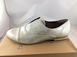 Indigo Rd. Womens Hacksy Silver Laceless Oxford Shoes Size 1
