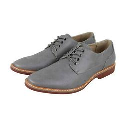 Kenneth Cole Unlisted Jupiter Oxford Mens Gray Lace Up Oxfor
