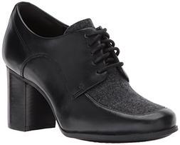 CLARKS Women's Kensett Darla Oxford Black TweedCombi 10 M US