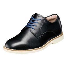 Florsheim Kids Kearny Jr. II Black Leather Oxford Shoes