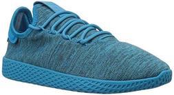 adidas Originals Kids Unisex PW Tennis HU J  White/Blue/Chal