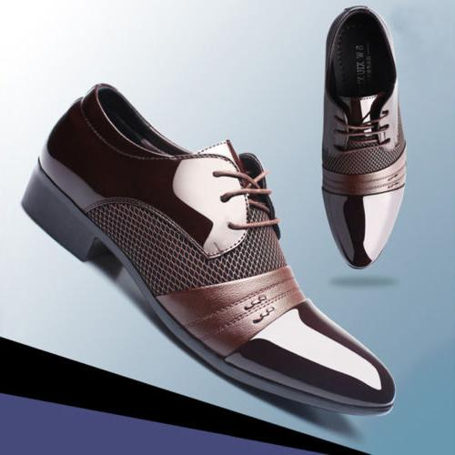 2018 Dress Flat Lace Up Casual Loafers