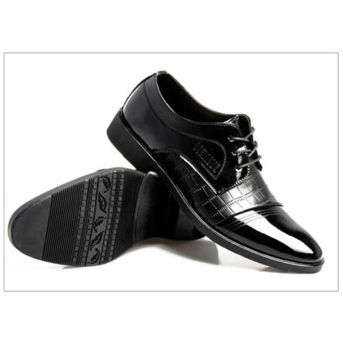 2018 Business Formal Oxfords Shoes Flat Lace Up Loafers