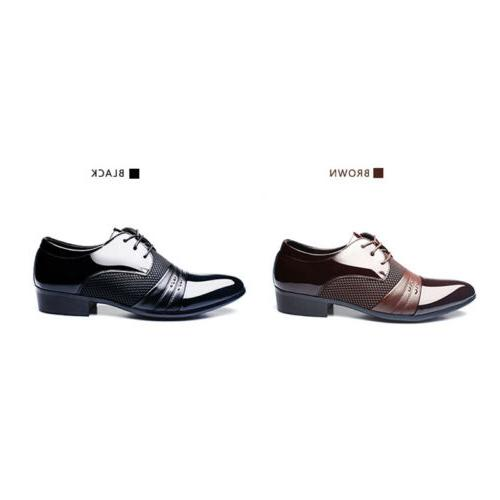 2018 Formal Oxfords Leather Shoes Flat Lace Up Casual Loafers