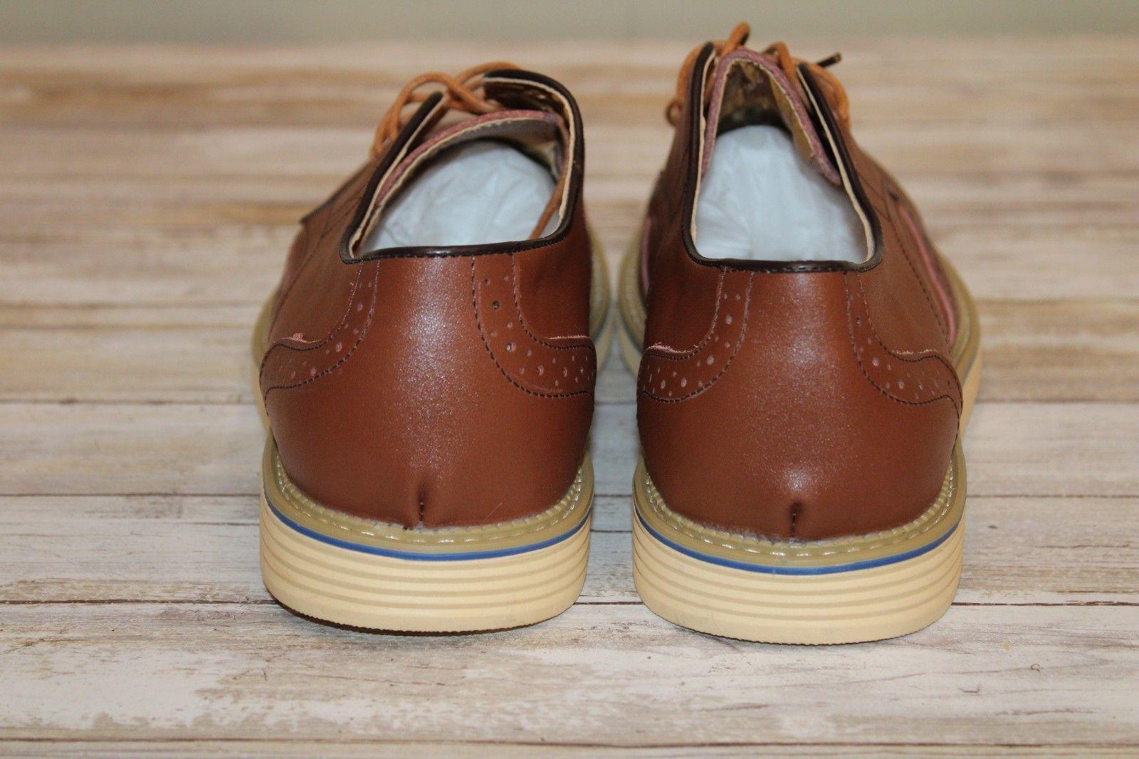 Kunsto Oxfords - Men's Size 11, Brown