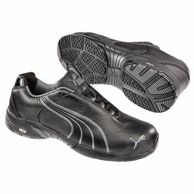Puma Safety 642855 Velocity Womens Black Low Steel Toe SD Ox