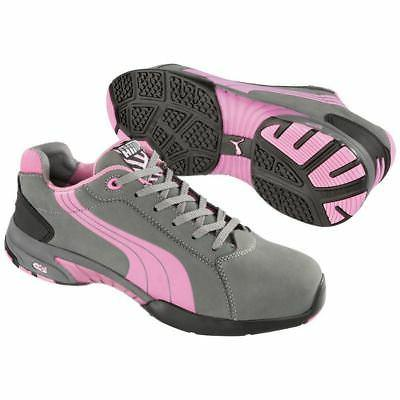 Puma Safety 642865 Balance Womens Grey Low Steel Toe SD Oxfo