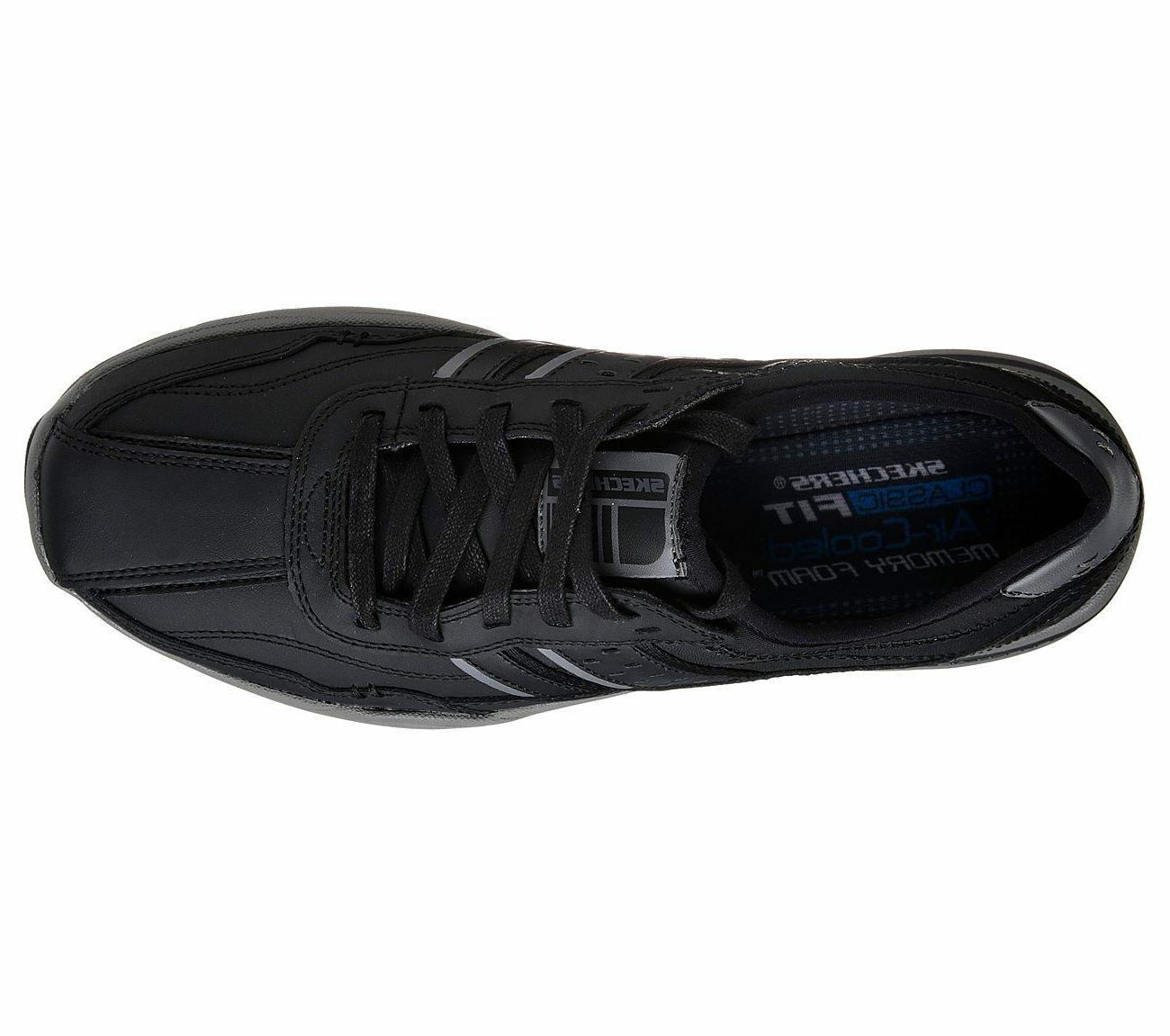 65055 Skechers shoes Men Foam Up Comfort Leather Oxford