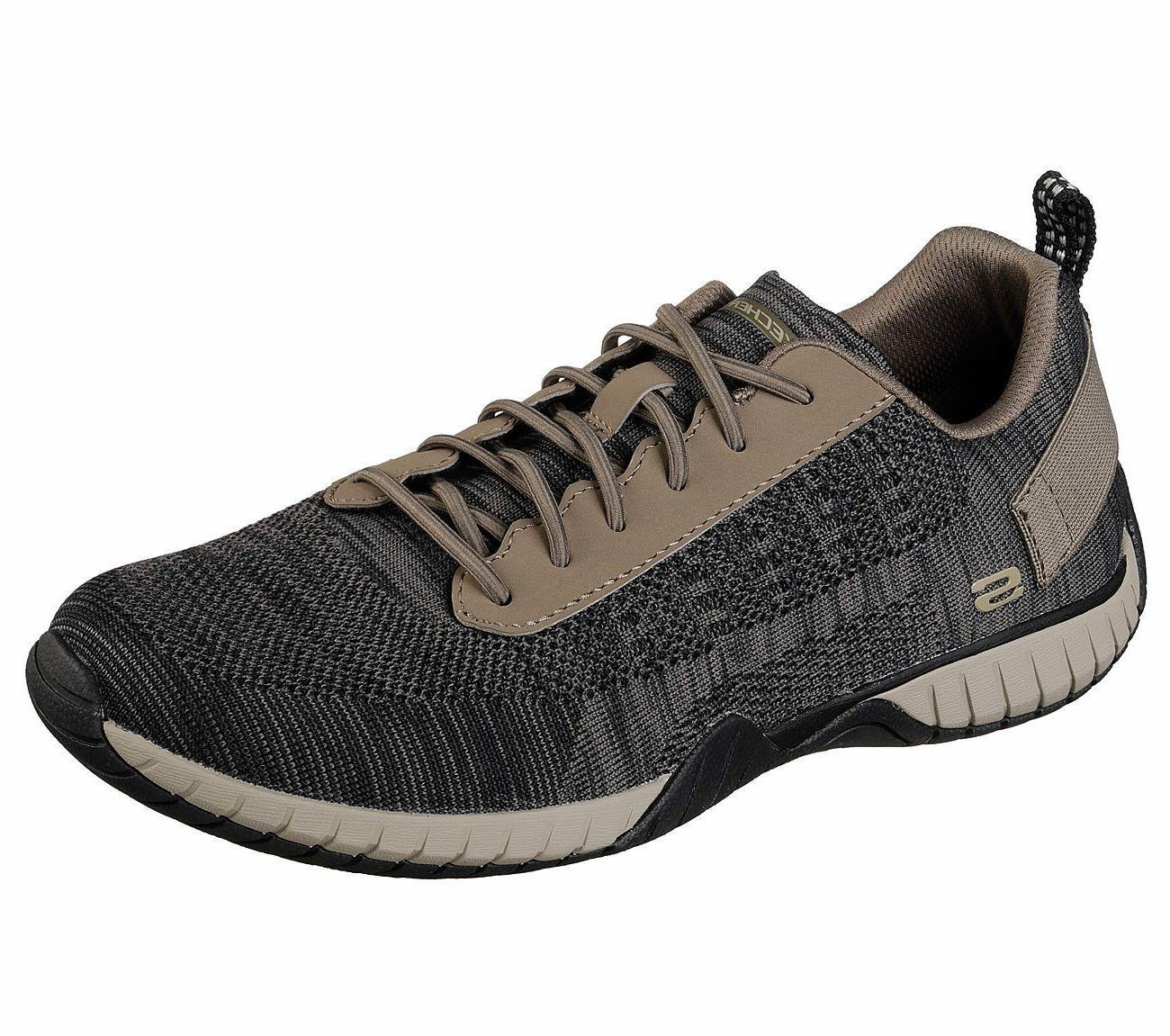 65182 khaki shoe men memory foam casual