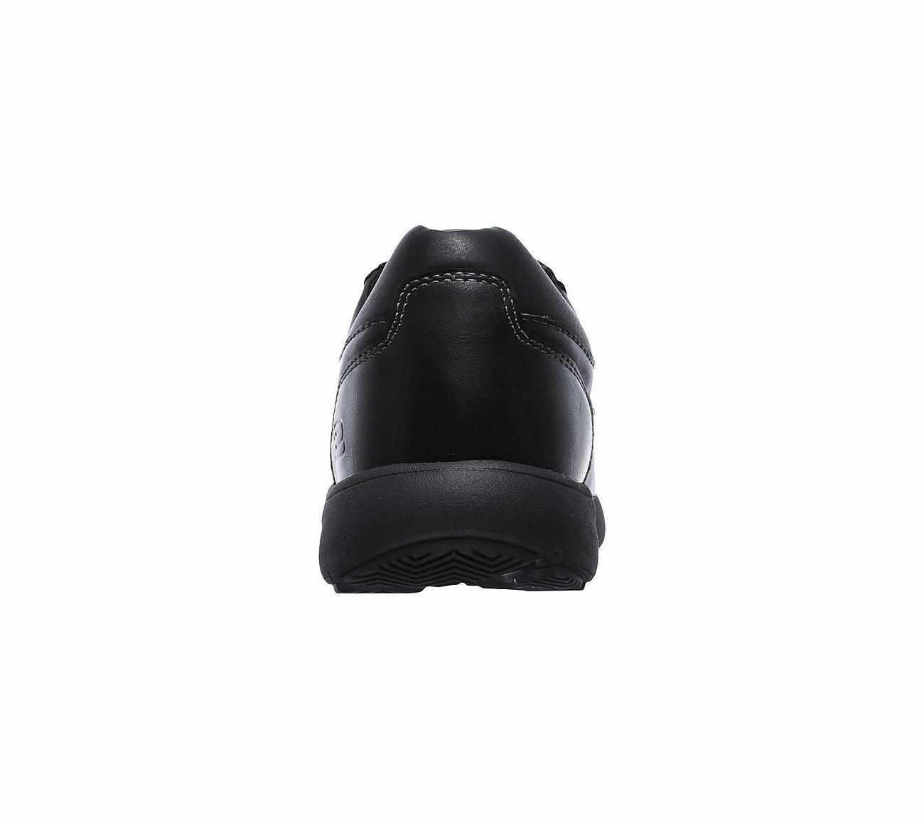 65325 Black Skechers shoes Men Memory Foam Comfort Dress Oxford