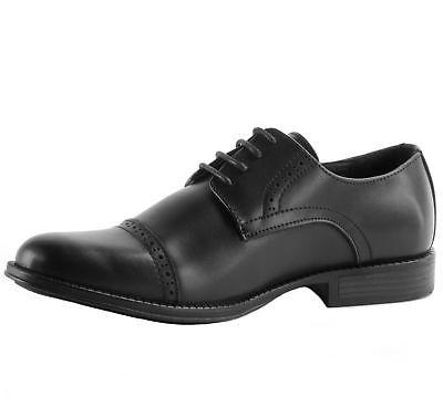 Alpine Genuine Leather Shoes Lace Cap Toe