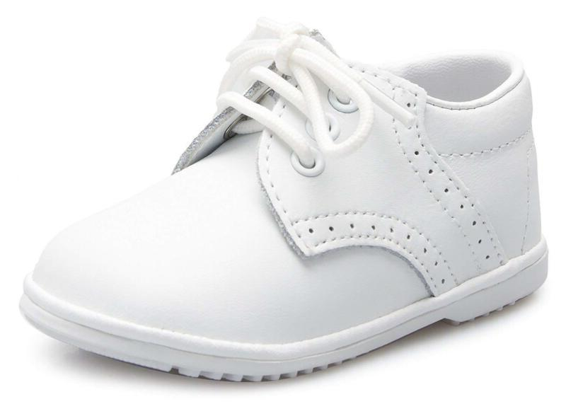 Olivia Koo Infant To Oxford Christening Shoes