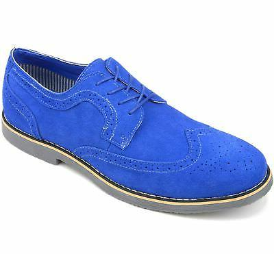 Alpine Dress Suede Wing Tip Brogue Lace Up