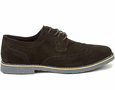 Alpine Swiss Dress Shoes Genuine Wing Up Oxfords