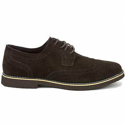Alpine Beau Dress Shoes Wingtip Lace Up Oxfords