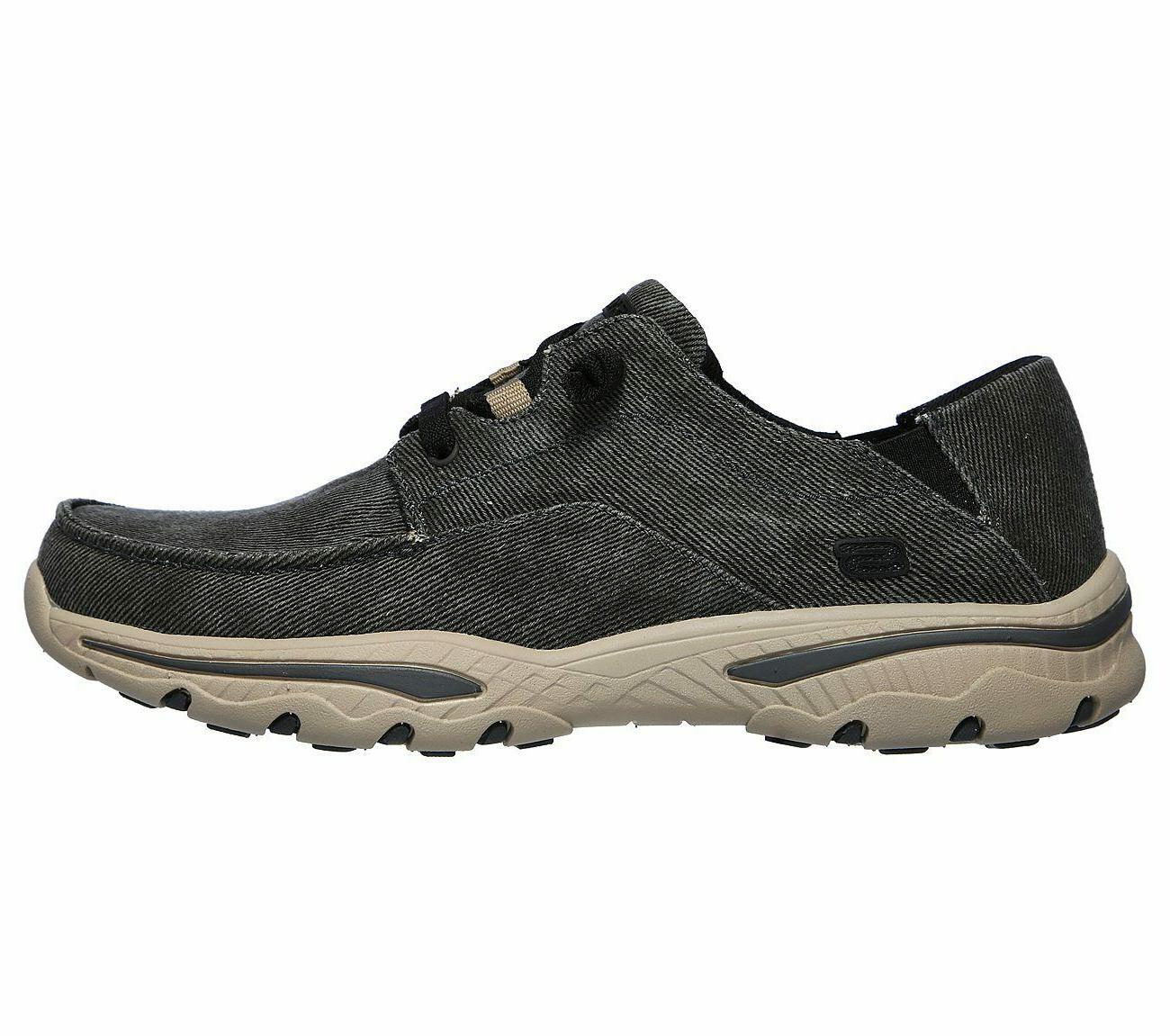 Skechers Shoes Men Canvas Memory Foam Slip On 204173