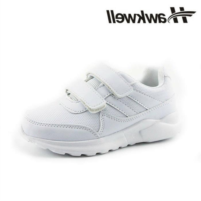Hawkwell Boys White Kids Sneakers Students