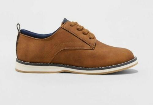 Boys' Oxford - Cognac 4