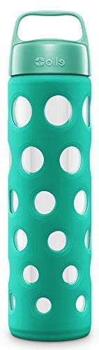 Ello Pure BPA-Free Glass Water Bottle with Lid, 20 oz