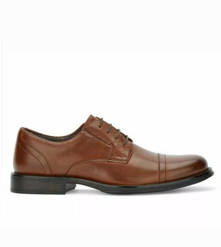 BRAND NEW! Mens Oxford Shoes Garfield Tan Size 11 medium