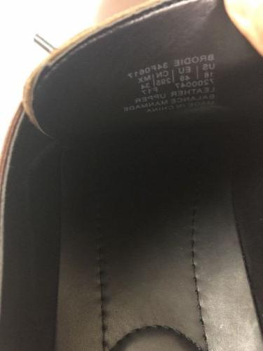 Calvin Klein Brown Leather Shoes 16
