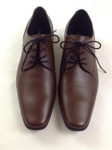 Calvin Klein Brodie Brown Leather Shoes Size