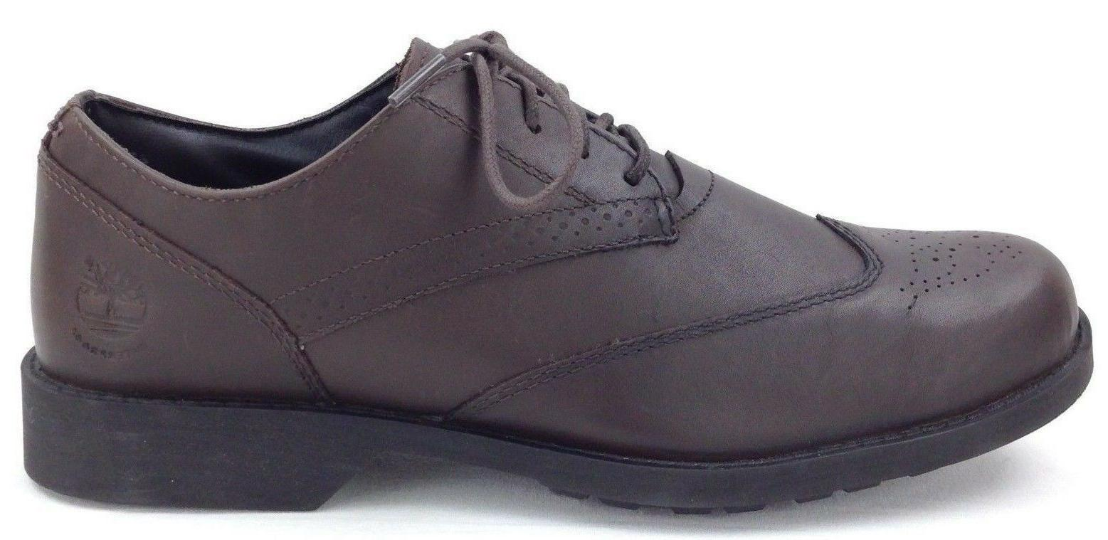 Timberland Brown Fitchburg Tip Dress Shoes