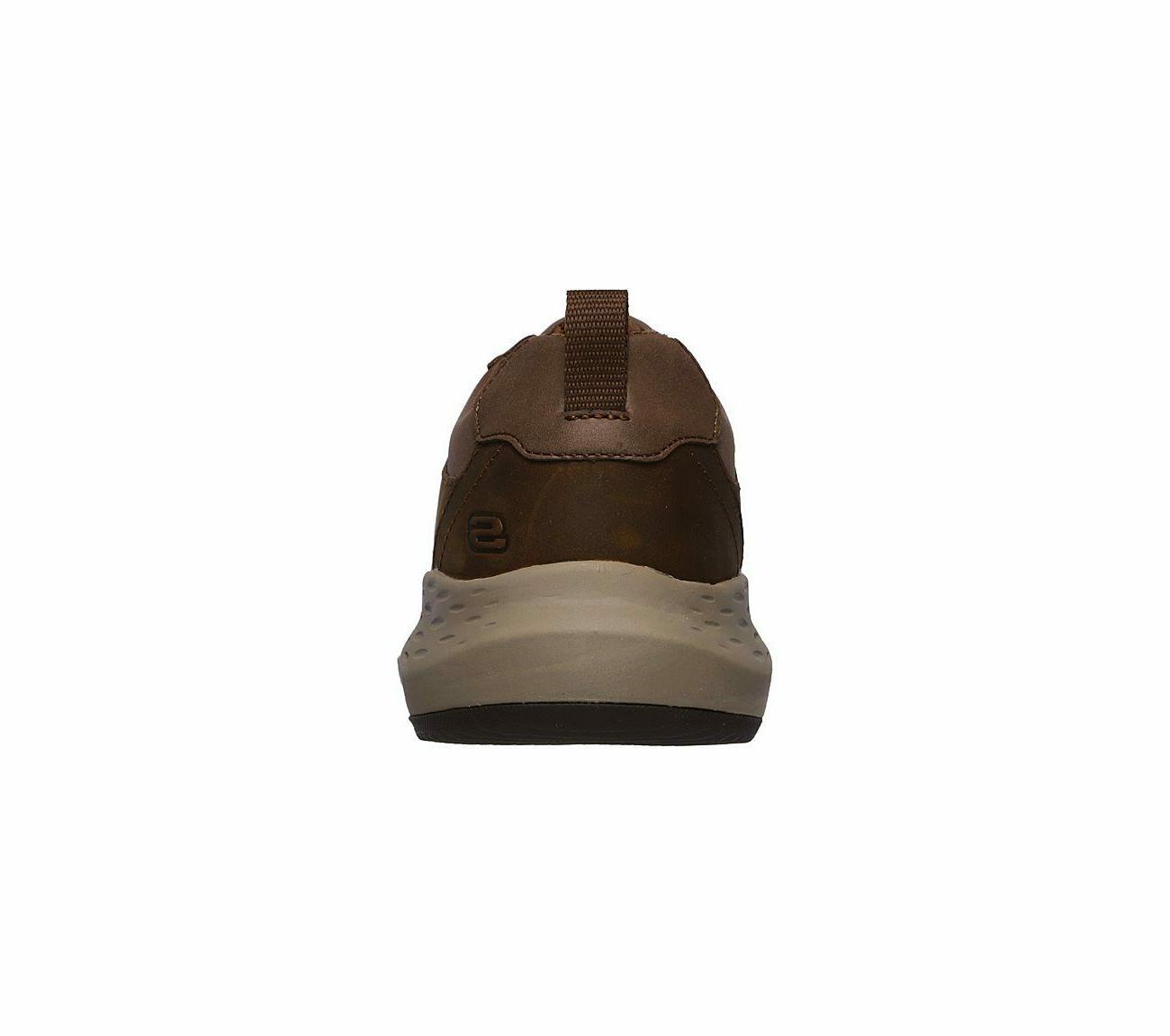 Skechers Brown Memory Comfort Leather