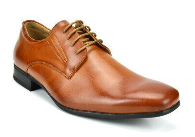 mens oxford shoes lace up business dress