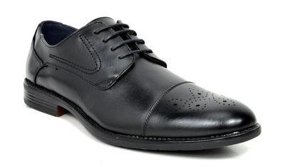 Bruno Marc Mens Leather Formal Wedding Oxford Shoes