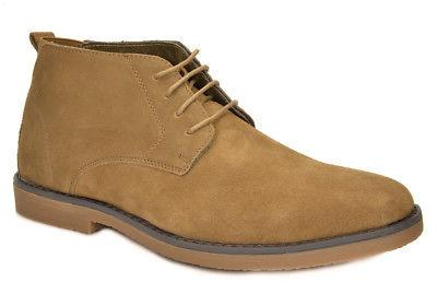 Bruno Marc Mens Chukka Suede Leather Classic Desert Oxfords