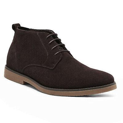 Bruno Suede Leather Desert Boots
