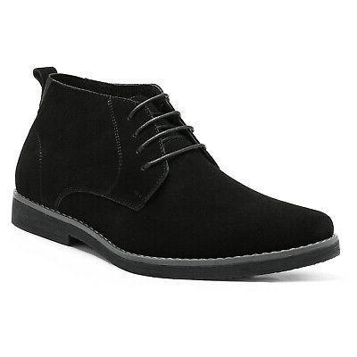 Men's Chukka Suede Leather Chukka Desert Oxford Dress Ankle