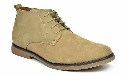 Bruno Leather Lace Classic Desert Oxford Boots