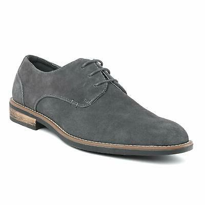 US Suede Leather Shoes Business Formal Oxfords Lace up Casual Shoes