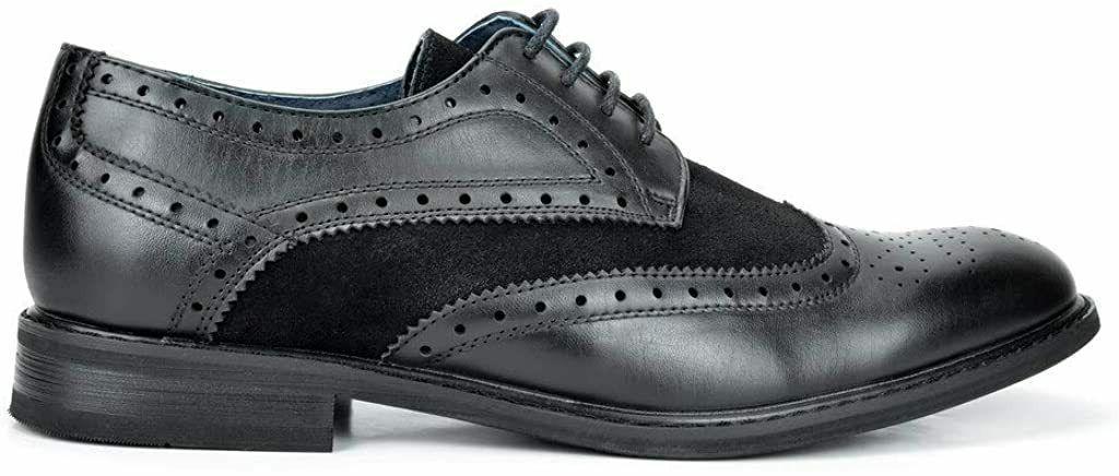 Bruno Marc Shoes Wingtip Prince, M US