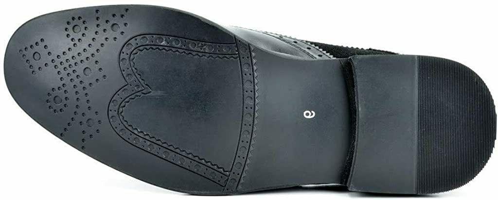 Bruno Marc Men's Shoes Wingtip Prince, Black, US
